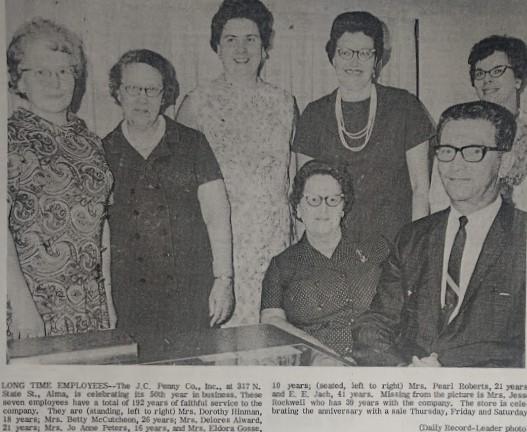 1968 staff