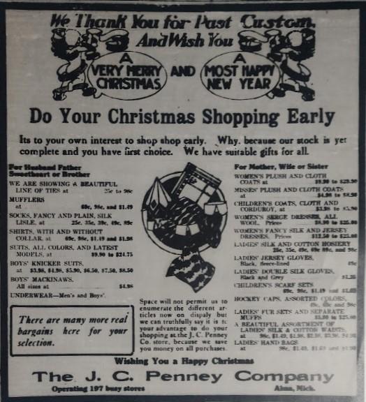 1st Christmas 1918